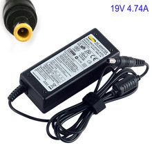19V 4.74A 90W 5.5x3.0mm Uniersal AC DC Power Supply Adapter Charger for Samsung R520 R522 R530 R580 R560 Laptop notebook