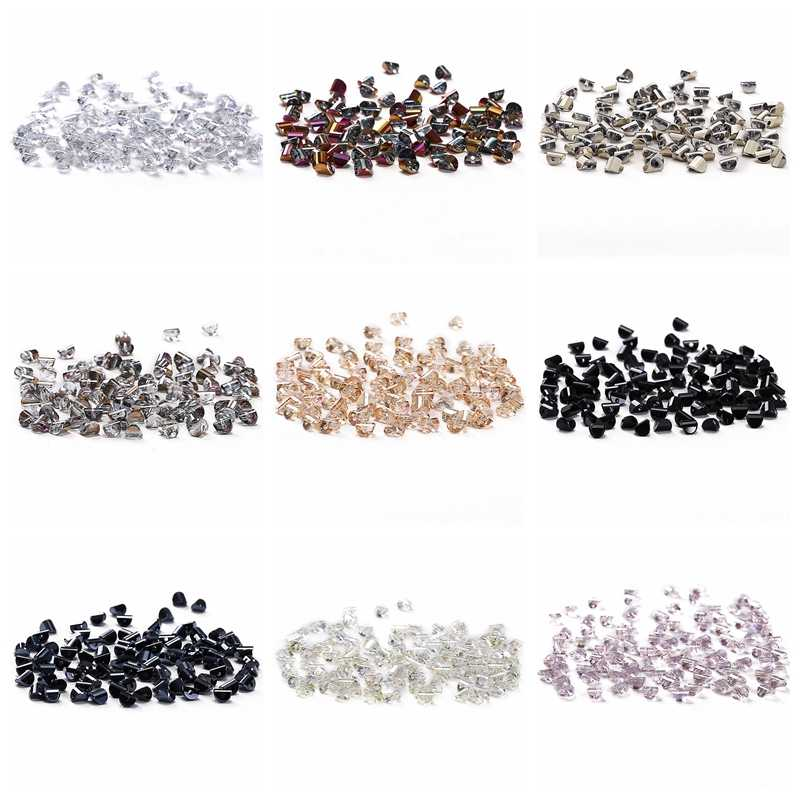 Hemisphere Crystal Beads for Jewelry Making AB 10pcs 6mm Austria Crystal Hemisphere Semicircle Loose Beads DIY Jewelry C-5