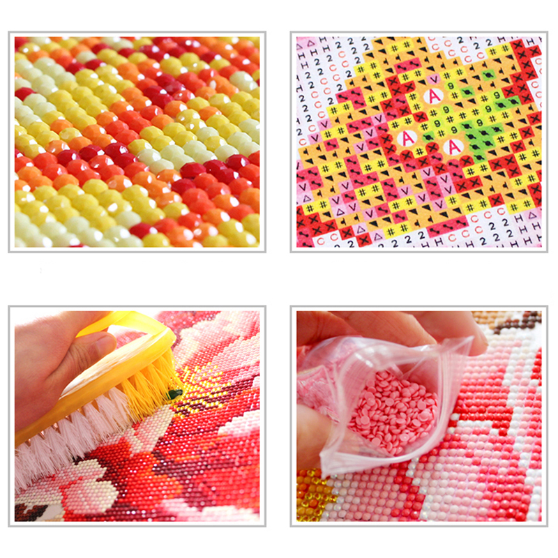 5D Diamond Painting Flamingo Full Round Drill Embroidery Kit Animal Home Decoration Mosaic Crystal Cross Stitch Handmade in Diamond Painting Cross Stitch from Home Garden