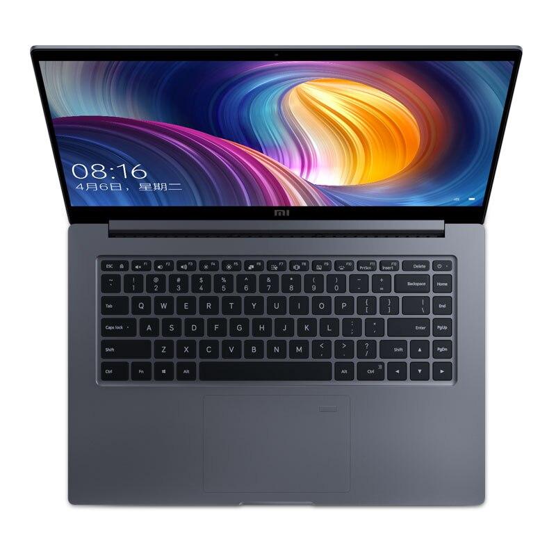 Ноутбук Xiaomi Mi Air Pro 15,6 дюймов GTX 1050 Max-Q ноутбук Intel Core i7 8550U CPU NVIDIA 16 Гб 256 ГБ отпечаток пальца Windows 10