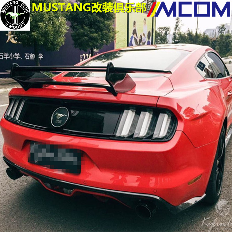 Fit for <font><b>Ford</b></font> <font><b>mustang</b></font> <font><b>2015</b></font> carbon fiber rear auto spoiler Wing rear wing high quality image
