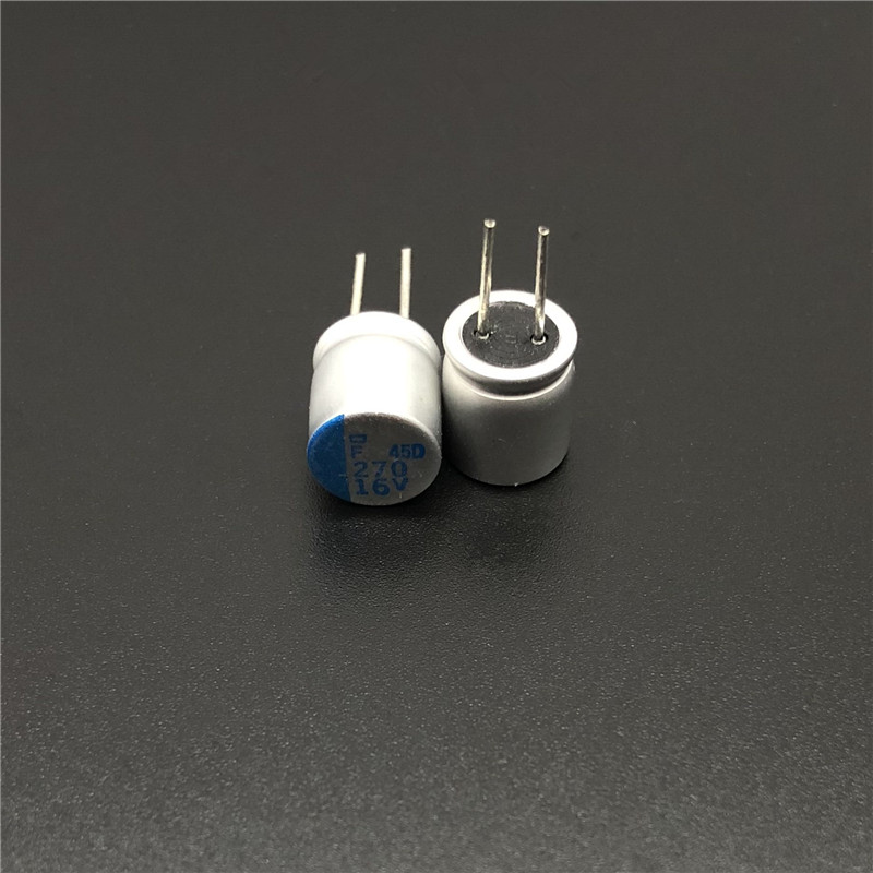 10pcs 270uF 16V NCC PSF Serires  8x8mm Super Low ESR 16V270uF For Motherboard VGA Solid Capacitors