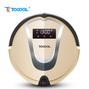TOCOOL TC-750 Household Intelligent Super Silent Double Middle Sweep Robot Fully Automatic Charge Sweep Drag Sweep Robot фото