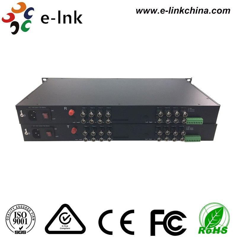16Ch 1080P Full HD TVI Vidoe over Fiber Transmitter for 2Mp TVI PTZ Camera16Ch 1080P Full HD TVI Vidoe over Fiber Transmitter for 2Mp TVI PTZ Camera