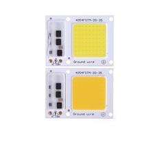 1 шт., высококачественный светодиодный чип COB 5 Вт, 20 Вт, 30 Вт, 50 Вт, 220 В, 110 В, вход, Интеллектуальный IC драйвер, пригодный для DIY, светодиодный прожектор, прожектор