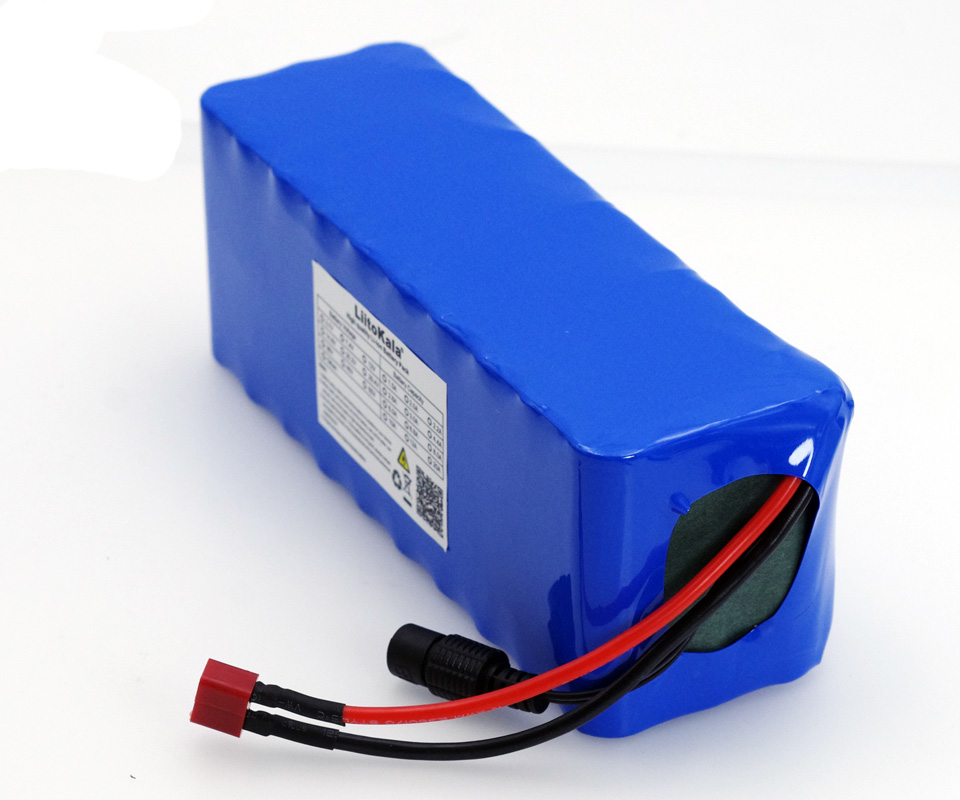 Image 2 - Liitokala 36V 12Ah 18650 Lithium Battery pack High Power 12000mAh Motorcycle Electric Car Bicycle Scooter with BMS+ 2A Charger-in Replacement Batteries from Consumer Electronics