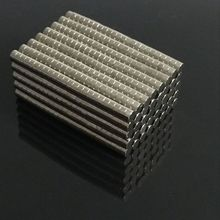 100pcs/pack 3mm x 1.5mm Neodymium N50 Round Strong Magnets Disc NdFeB Craft Rare Earth Magnet