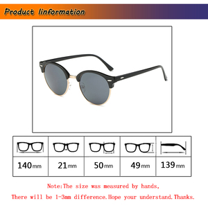 Image 4 - 視度 SPH 1 1.5 2 2.5 3 3.5 4 4.5 5  5.5 6.0 完成近視偏光サングラス男性女性近視メガネ L3