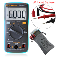 AN8002 LCD Digital Multimeter 6000 counts Backlight Auto Range Ammeter Voltmeter AC DC Volt Current