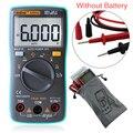 Auto Backlight Multímetro Digital 6000 Counts AC/DC Ohm Amperímetro Tester Medidor de Capacitância Freqüência Temperatura Transformar FULI