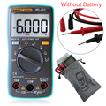 Auto Digital Multimeter 6000Counts Backlight AC/DC Transform Ohm Ammeter Frequency Capacitance Temperature Tester Meter FULI