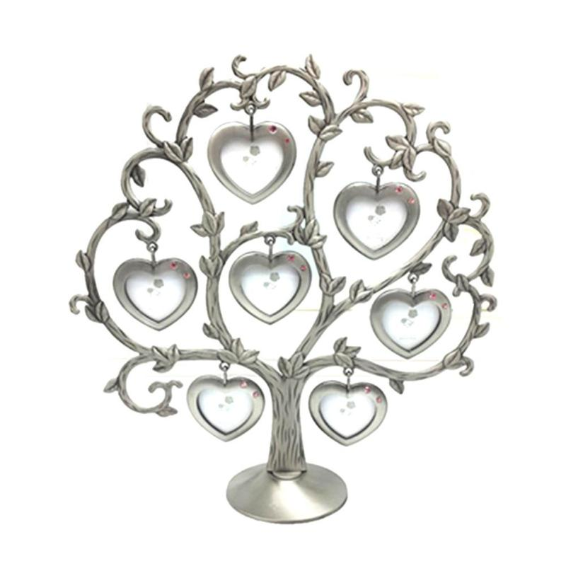 Hermosa Familia Marco Del Metal Del árbol Elaboración - Ideas de ...
