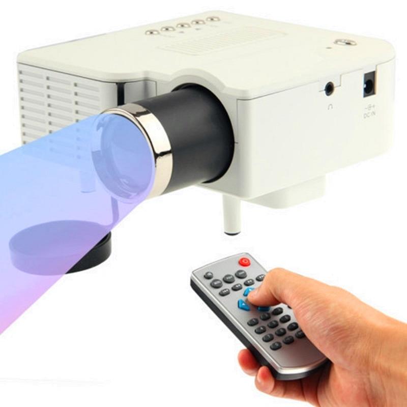 ФОТО NEW UC28+ mini Projector with HDMI Mini Micro AV LED Digital Video Multimedia Home theater Portable Support HDMI VGA AV USB SD