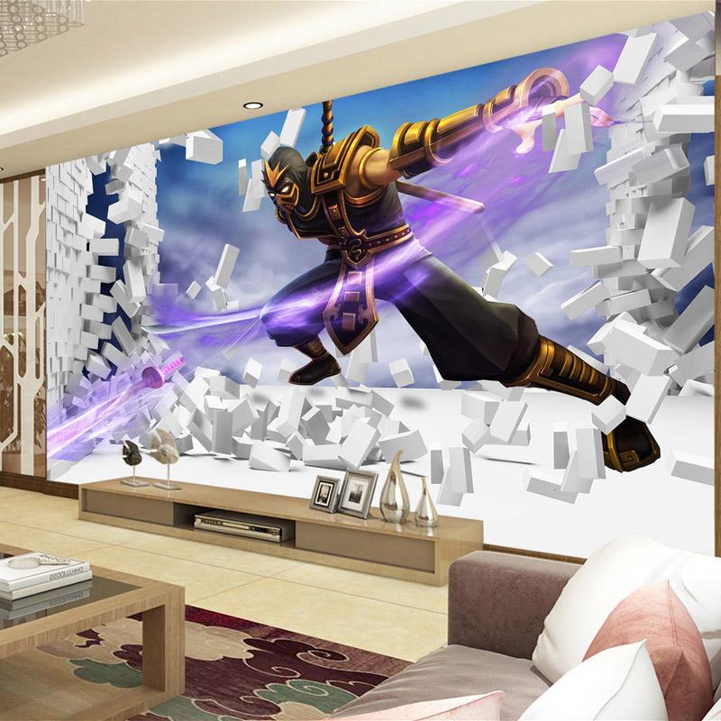 custom d juego league of legends foto wallpaper ladrillos wallpaper dormitorio wallpaper habitacin de hotel decoracin