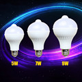 E27l screw body sensing LED bulb intelligent optical control infrared sensor security lights aisle balcony toilet