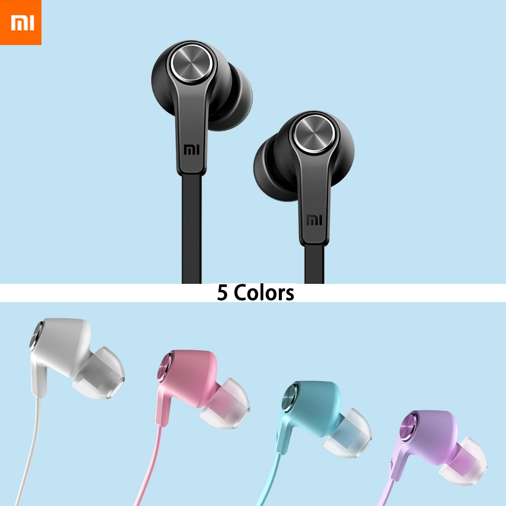 Original XIAOMI MI PISTON Colorful Version 3 5mm In ear earphone earbuds for XIAOMI Redmi note 4 5 note5A 4 4A 4X 5 5A 5 plus in Phone Earphones Headphones from Consumer Electronics