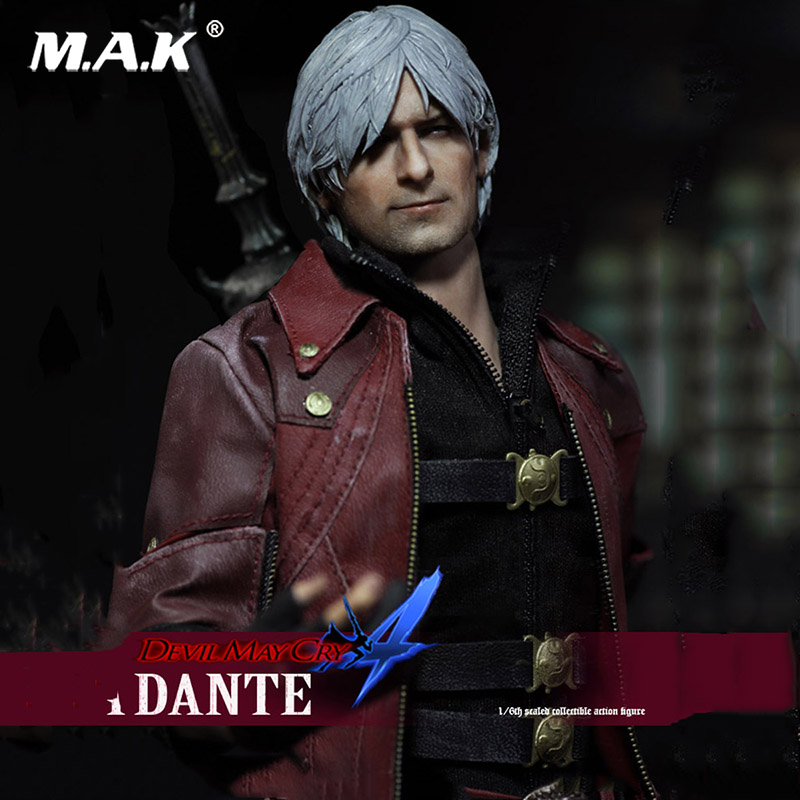 Full Set The Devil May Cry series The DANTE Figure Collectible Action Figure Doll the figure of dante an essay on the vita nuova