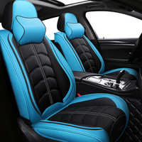 Nouveau sport PU cuir auto housses de siège pour Nissan Qashqai Note Murano mars Teana Tiida Almera x-trai accessoires auto style