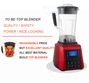 Image 3 - Digital TouchPad Timer 3HP BPA FREE automatical professional smoothies power blender food heavy duty smart program mixer juicer