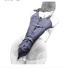 Связующий раб Фетиш один Armbinder перчатки S& M БДСМ Для Взрослых Связывание комплект сексуальные связывание ограничения Секс игрушки