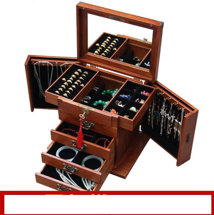 Blocarea caseta de bijuterii din lemn reale prințesă continentală - Organizarea și depozitarea în casă