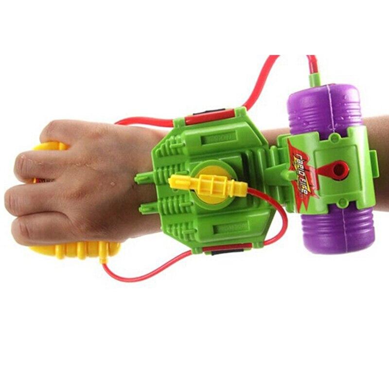 1pc Mini Hand Wrist Nozzle Water Gun Hand Type Nozzle Childrens