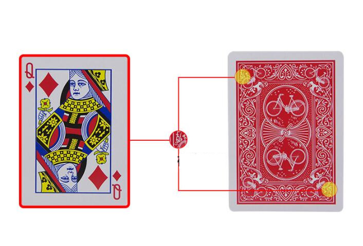 Magic Cards Marked Stripper Deck Playing Cards Poker Magic Tricks Close-up Street Magia Kid Child Puzzle Toys Joke