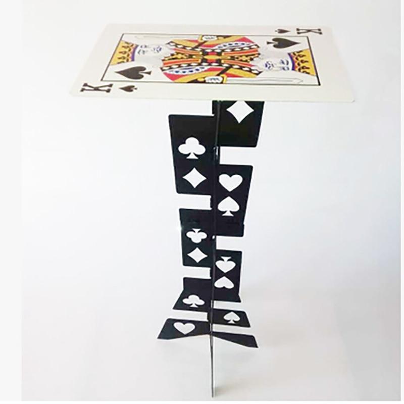 Livraison gratuite nouveauté magique de haute qualité en alliage d'aluminium table pliante table magique prop magique