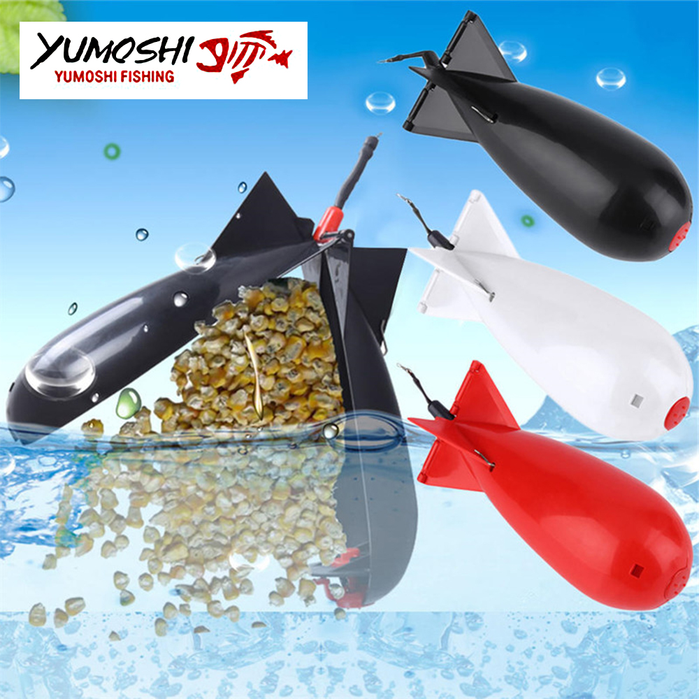 1Pcs Rockets Spod Bomb Fishing Tackle Feeders Fishing Carp Pellet Rocket Feeder Float Bait Holder Maker Tackle Tool Accessories