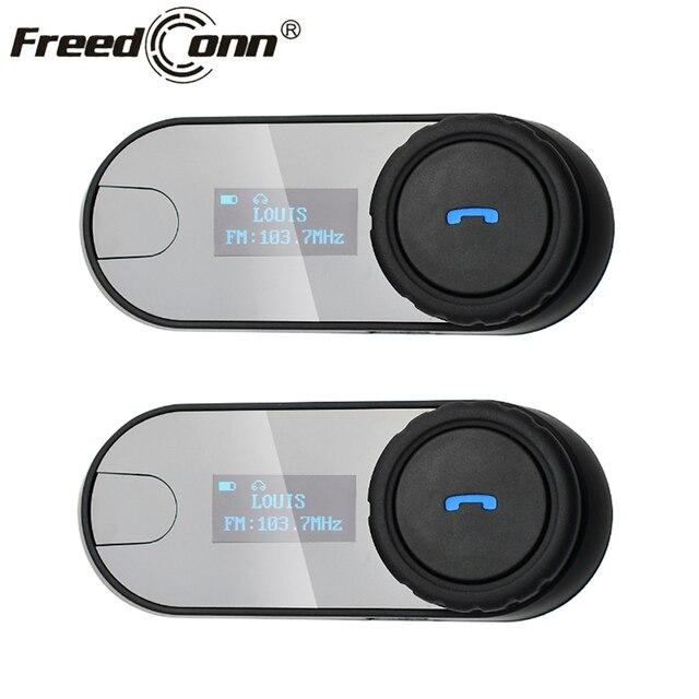 c60335b88eb En ucuz 2 adet FreedConn TCOM SC Kask Kulaklık Bluetooth Motosiklet ...
