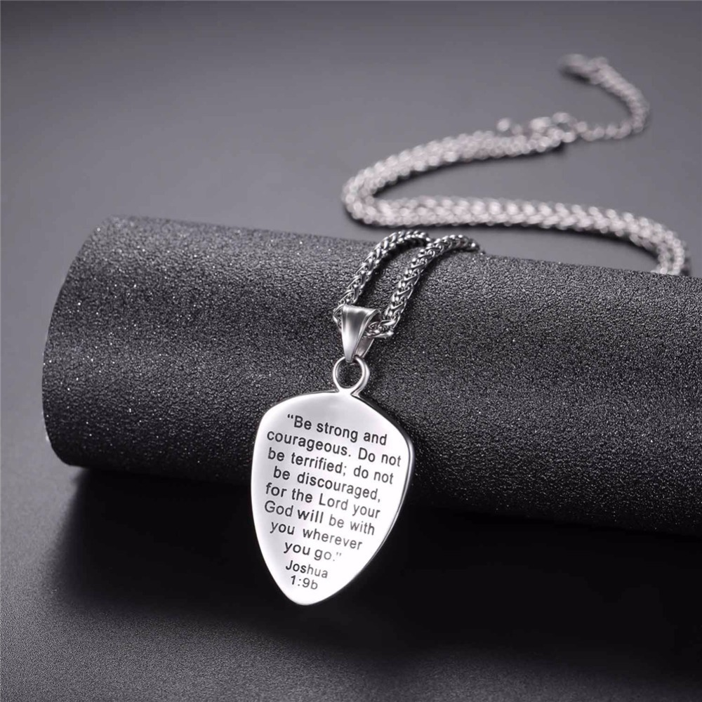 U7 necklace bible cross shield of faith stainless steel pendant u7 necklace bible cross shield of faith stainless steel pendant chains goldblack color christmas gift jewelry necklaces p1138 in pendant necklaces from aloadofball Images