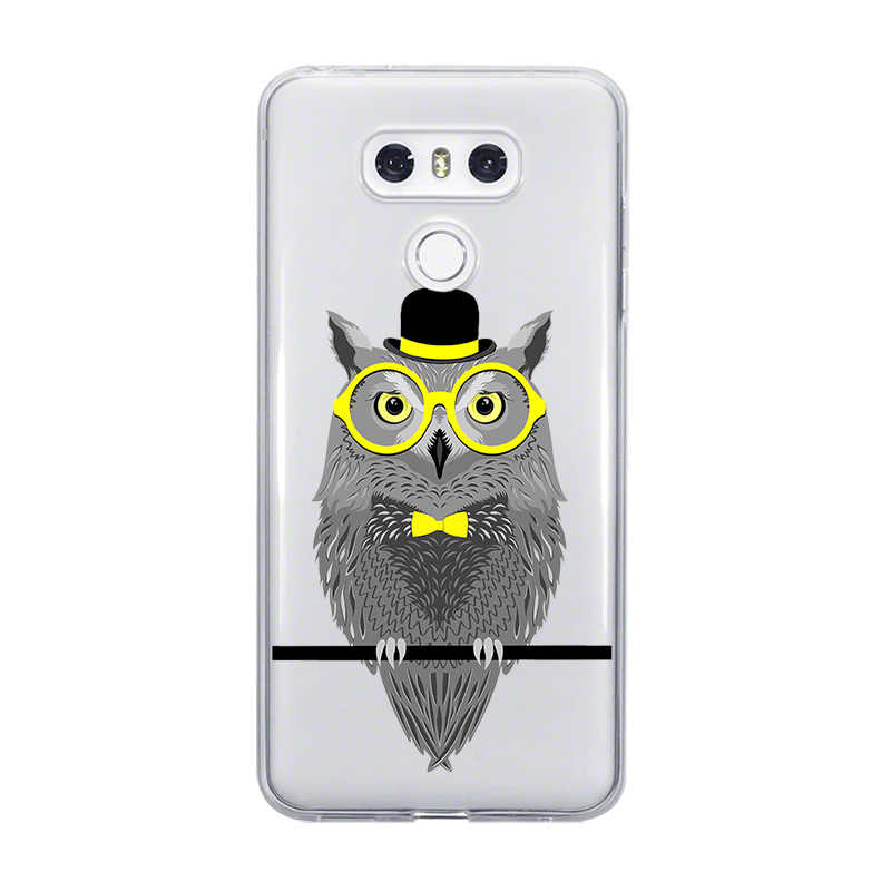 Ciciber جراب هاتف Fundas ل LG G6 G7 G5 G4 V30 V35 V40 V20 THINQ TPU ل LG K10 K8 K7 k4 2017 2018 K9 K11 زائد الحيوان البومة لطيف