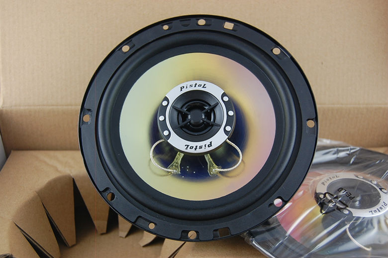 Excellent Sound car Small treble TWEETER P662 woofer 2200WATTS 6.5 16cm dia бампер excellent car 13 14 rav4 4s