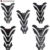 KODASKIN Motorcycle Tank Protectors Stickers 3D Decals Carbon fit for YAMAHA YZF R3