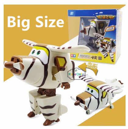 ビッグサイズ15センチ2016新しい到着スーパー翼absプレーン·トランスフォーメーション·ロボット飛行機ロボットbrinquedosジェットアクションフィギュアおもちゃ/50