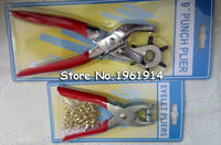 6 Sized Heavy Duty Leather Hole Punch Pliers Metal Hand Tool 2pcs Set 1pc Punch Plier