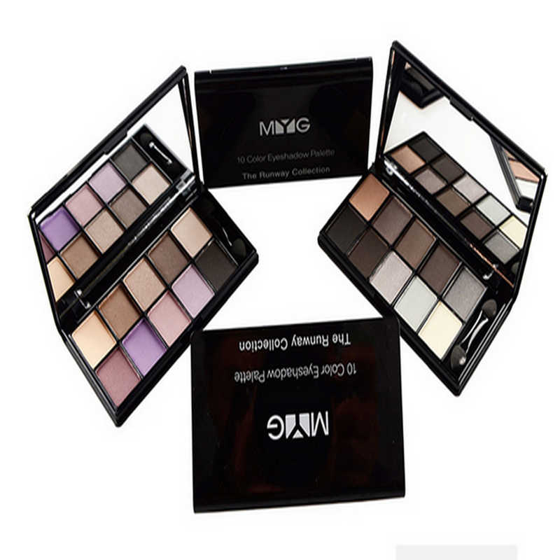 Mini Cosmetic Matte Eyeshadow Cream Makeup Palette Shimmer