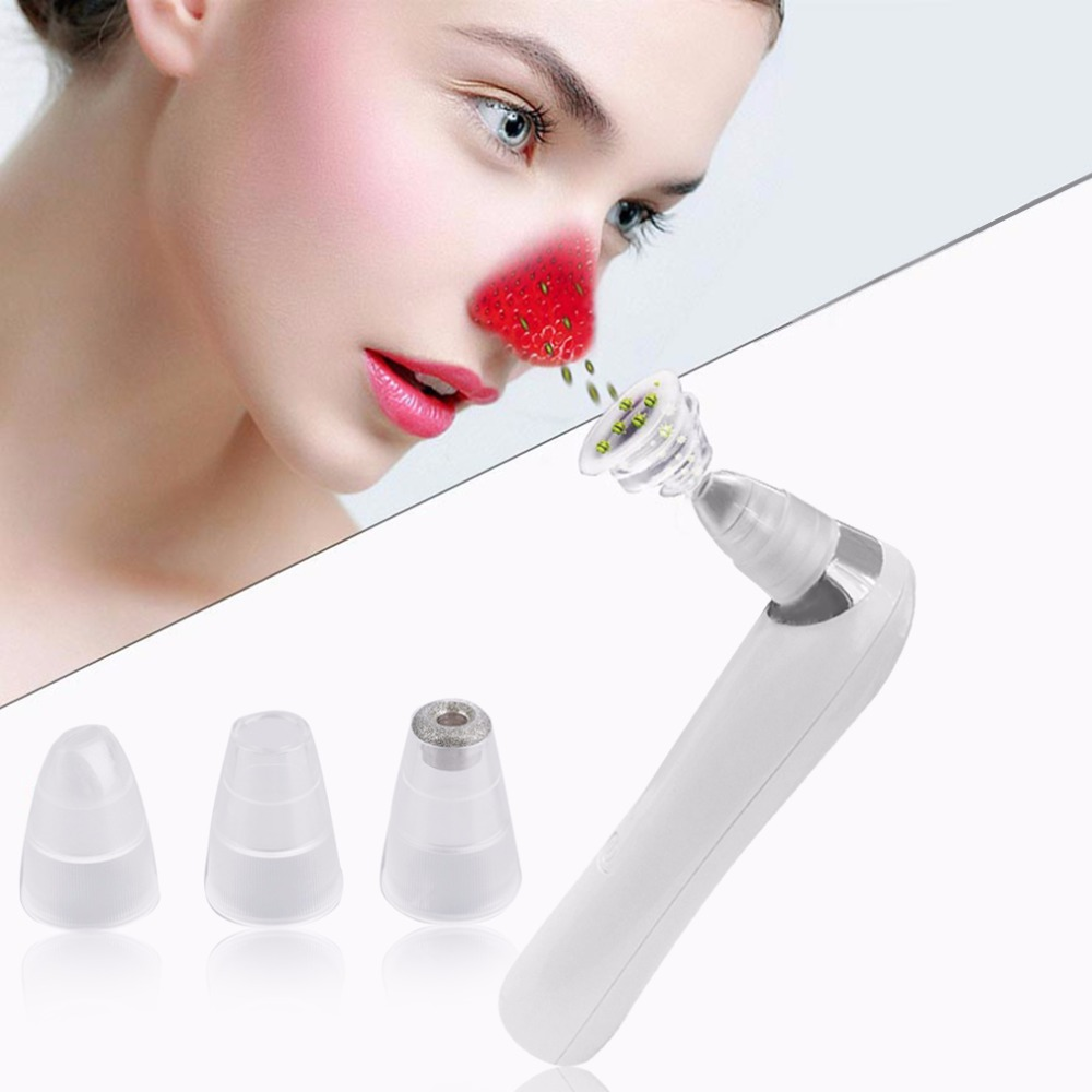 Professional Beauty Vacuum Suction Face Pore Cleaner Nose Blackhead Acne Remover Extractor Spot Cleaner Skin Peeling Care Tools face nose vacuum blackhead extractor pores cleaning black dot comedo extractor point noir aspiration acne suction skin tool
