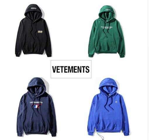 d4044ee37f25 2018ss new Europe hip-hop collection Men Women hoodies pullover quality  hiphop kanye west VETEMENTS Oversized Hoodie Sweatshirts
