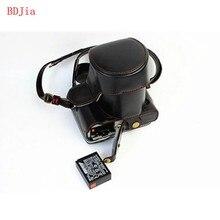Новый Роскошный Кожаный Чехол Камера Для Fujifilm XT10 XT20 Камеры PU Кожа Камера Сумка Обложка С Открытие Батареи + ремень