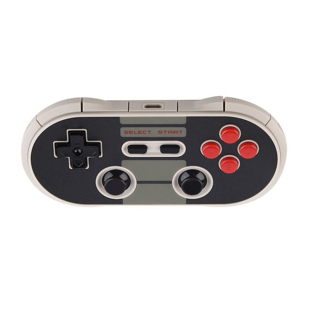 Portable Wireless Bluetooth Classic 8Bitdo NES30 Pro Game Controller Full Buttons for iOS/Android Phone PC Mac Linux Gamepad