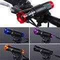 Велосипедный фонарь  водонепроницаемый  300 лм  CREE Q5  велосипедный передний светильник  16850  Аксессуары для велосипеда + фонарь-держатель