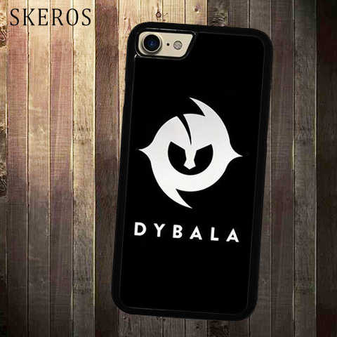 SKEROS Paulo Dybala Symbol cover cell phone case for iphone X 4 4s ...