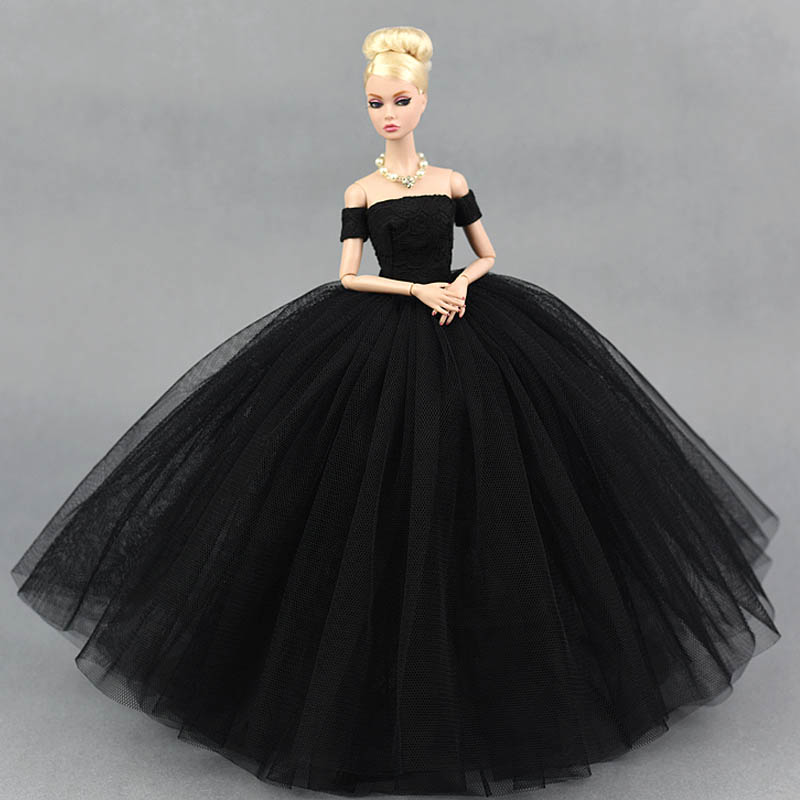 Vestido De Muneca De Moda Elegante Vestido De Novia De Senora Para