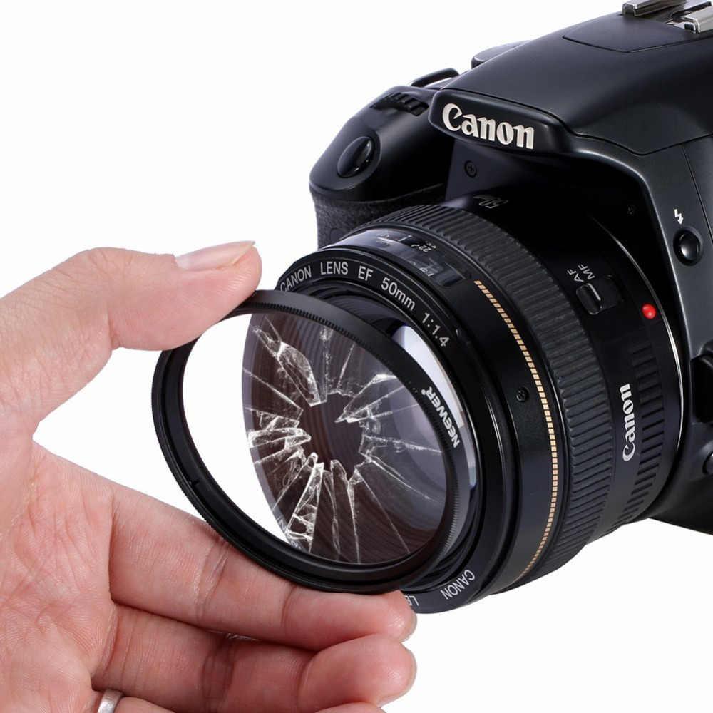 Neewer 52 มม. เลนส์ป้องกันเลนส์ UV + ผ้าทำความสะอาดสำหรับ Nikon D7100 D5300 D5200 D5100 D5000 D3300 D3200 D3100 d3000 D90 D80