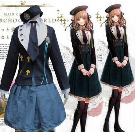 Amnesia HEROINE Cosplay Costume Japanese School Uniform Women Girls Casual Lolita Costumes