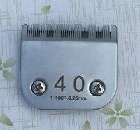40 # (0.25ミリメートル)プロフェッショナルアニマルクリッパーa5刃フィットほとんどアンディとオスター切り