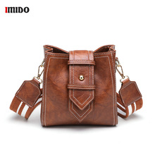 Women Retro Leather Busket Messenger Bag Wide strap Crossbody Shoulder Bag Ladies Fashion Small Green Black Brown Vintage Bags