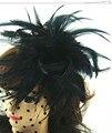 Бесплатная доставка 4 цвет высокое качество мини топ шляпы чародей/свадебный волосы аксессуары Великий, как партийные шляпы FS27