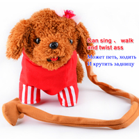 Singing Electronic Dogs Children High Quality Interactive Electronic Dog Toys Multi Color Clothes Electronic Toys Dog